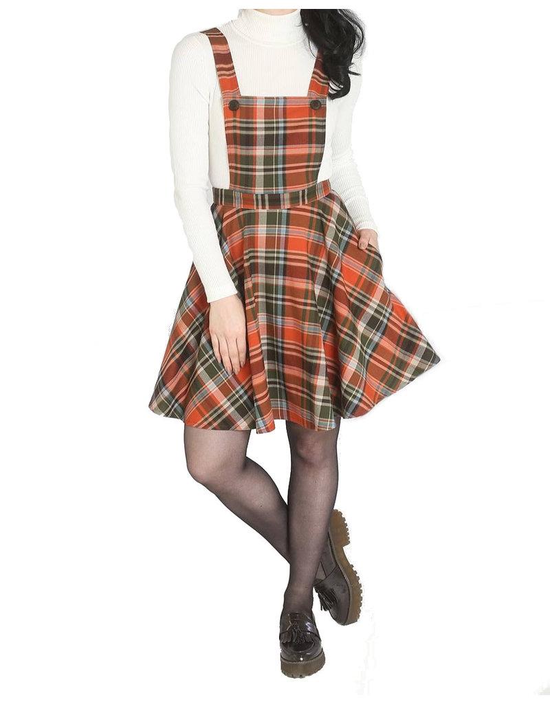 HELL BUNNY - Oktober Pinafore Dress