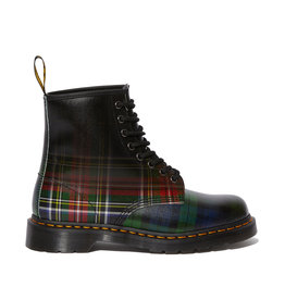 DR. MARTENS 1460 TARTAN ROYAL STEWART/BLACKWATCH BACKHAND STRAWGRAIN 815TAR-R25244602