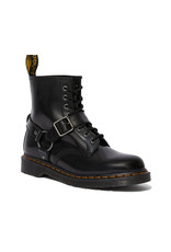 DR. MARTENS 1460 HARNESS BLACK POLISHED SMOOTH 815BHN-R25163001