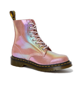 DR. MARTENS 1460 PASCAL PINK IRIDESCENT TEXTURE 815PIT-R25143650