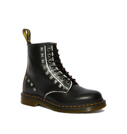DR. MARTENS 1460 STUD BLACK MILLED VINTAGE SMOOTH 815ST-R25202001