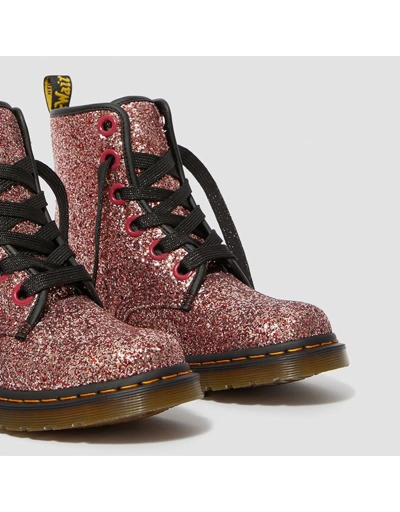 DR. MARTENS 1460 FARRAH PALE PINK CHUNKY GLITTER 615PCG-R25137681
