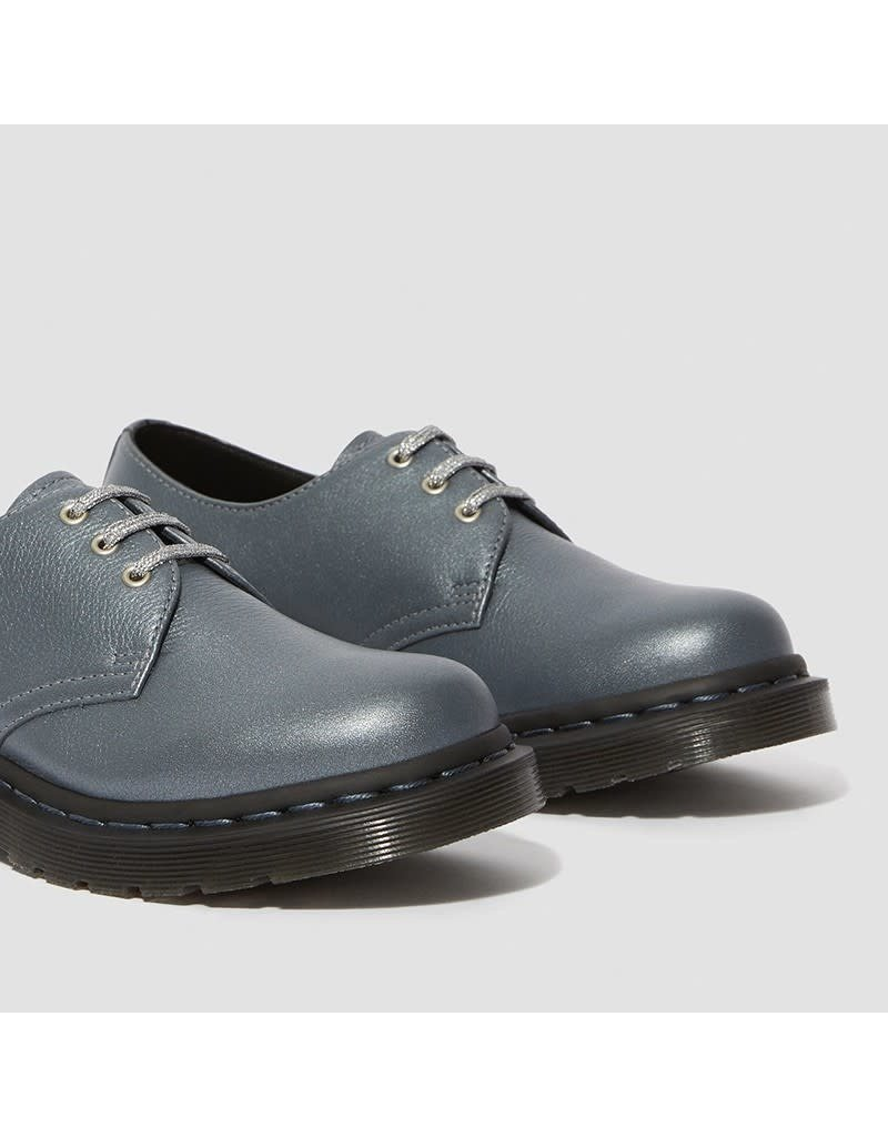 DR. MARTENS 1461GUNMETAL METALLIC VIRGINIA 301GMV-R24983029