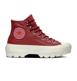CONVERSE CHUCK TAYLOR ALL STAR LUGGED WINTER LEATHER HI BACK ALLEY BRICK CC994R-565007C
