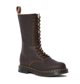 DR. MARTENS 1914 KOLBERT TALL DARK BROWN SNOWPLOW WP 1400KSDB-R24977201