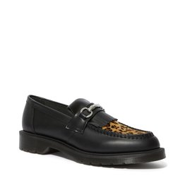 DR. MARTENS ADRIAN SNAFFLE BLACK & LEOPARD SMOOTH & HAIR ON M55LEO-R25025001