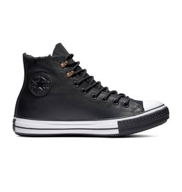 CONVERSE CHUCK TAYLOR ALL STAR WINTER HI CUIR BLACK/BLACK/WHITE CC19BAW-165936C