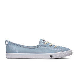 CONVERSE CHUCK TAYLOR ALL STAR BALLET LACE SLIP LIGHT BLUE/WHITE C983LB-563492C