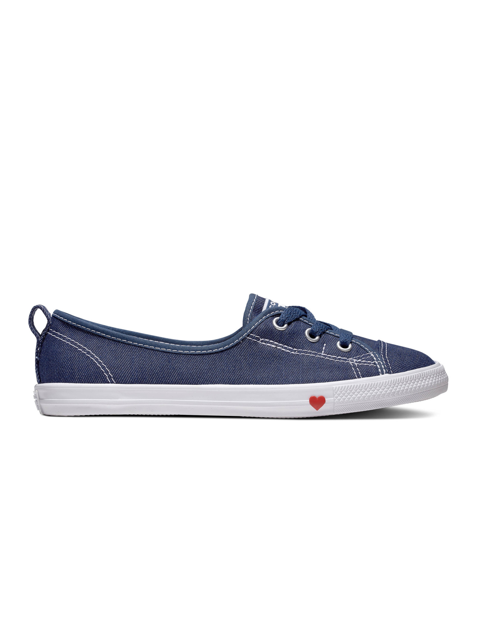 CONVERSE CHUCK TAYLOR ALL STAR BALLET LACE SLIP INDIGO/WHITE C983IN-563493C