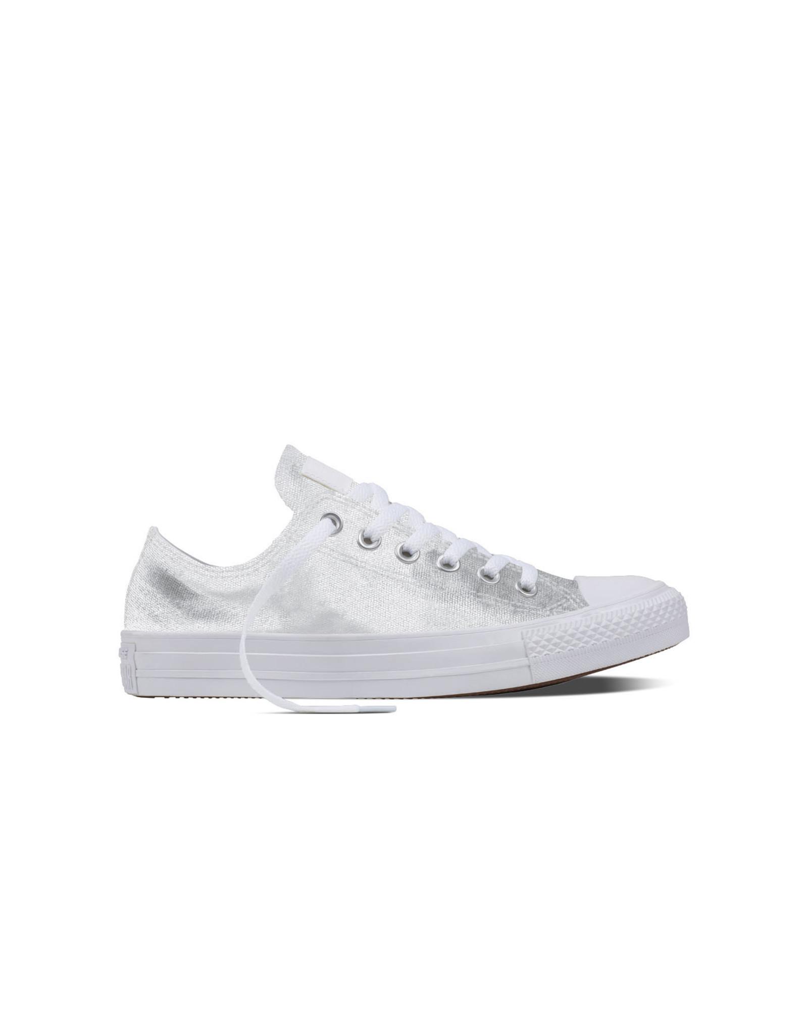 CONVERSE CHUCK TAYLOR OX WHITE/WHITE/WHITE C11MW-155564C