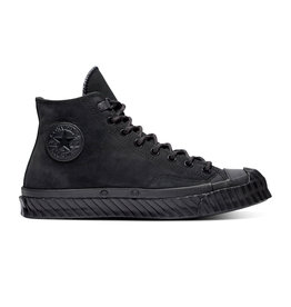 CONVERSE CHUCK 70 BOSEY HI LEATHER BLACK/ALMOST BLACK CC974MO-165932C