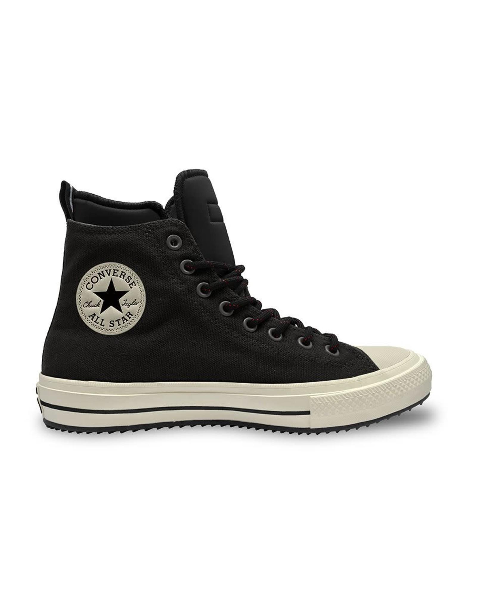 CONVERSE CHUCK TAYLOR ALL STAR BOOT HI CUIR BLACK/BLACK/EGRET CC19BOB-166607C