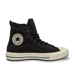 CONVERSE CHUCK TAYLOR ALL STAR BOOT HI LEATHER BLACK/BLACK/EGRET CC19BOB-166607C