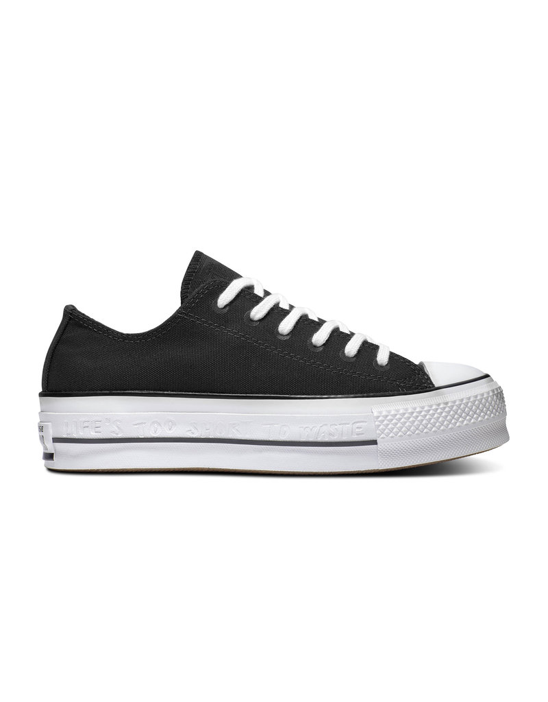 CONVERSE CHUCK TAYLOR ALL STAR LIFT OX BLACK/WHITE/BLACK C13LBA-566231C