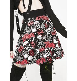KILLSTAR - Baby Death Skater Skirt
