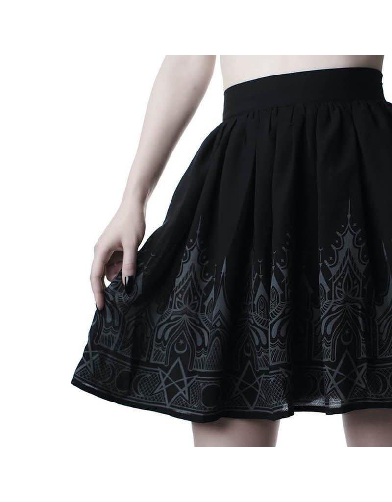 KILLSTAR - Duchess Chiffon Skirt