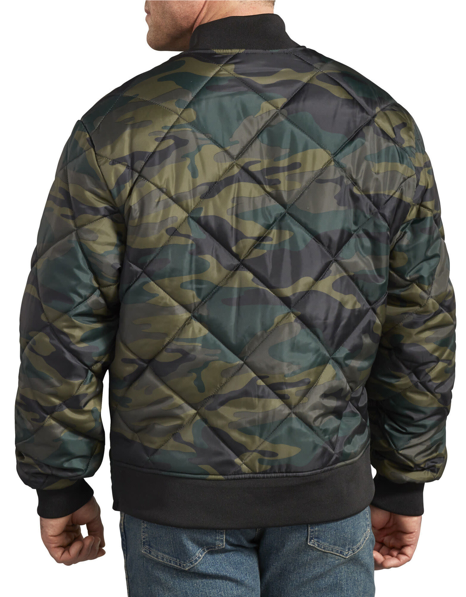 DICKIES Camo Diamond Quilted Jacket