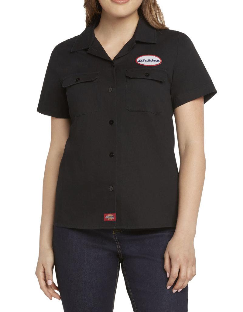 Dickies Girl Short Sleeve Workshirt w/patch J3017LW