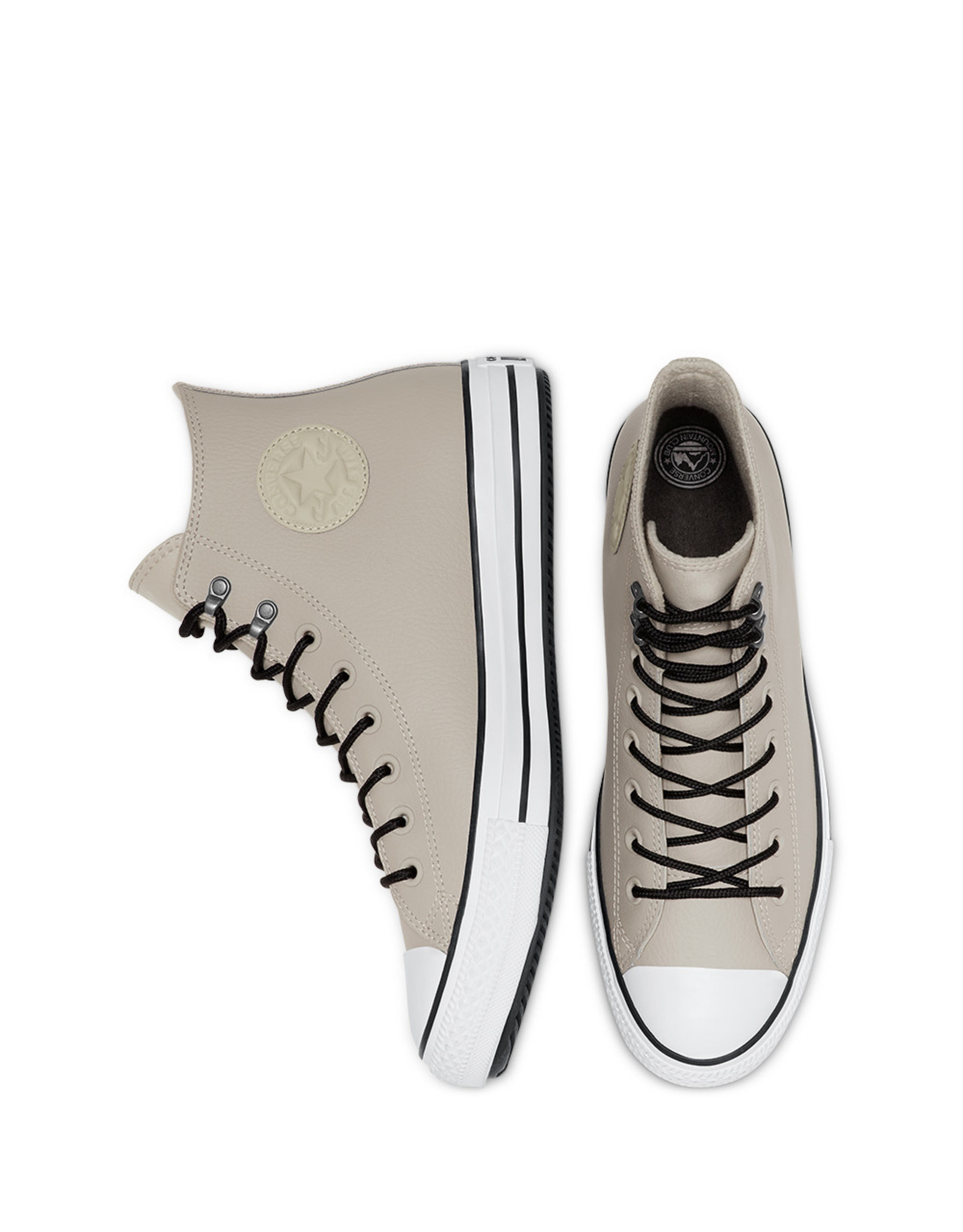 CONVERSE CHUCK TAYLOR ALL STAR WINTER HI LEATHER BIRCH BARK/WHITE/BLACK CC19BIR-166219C