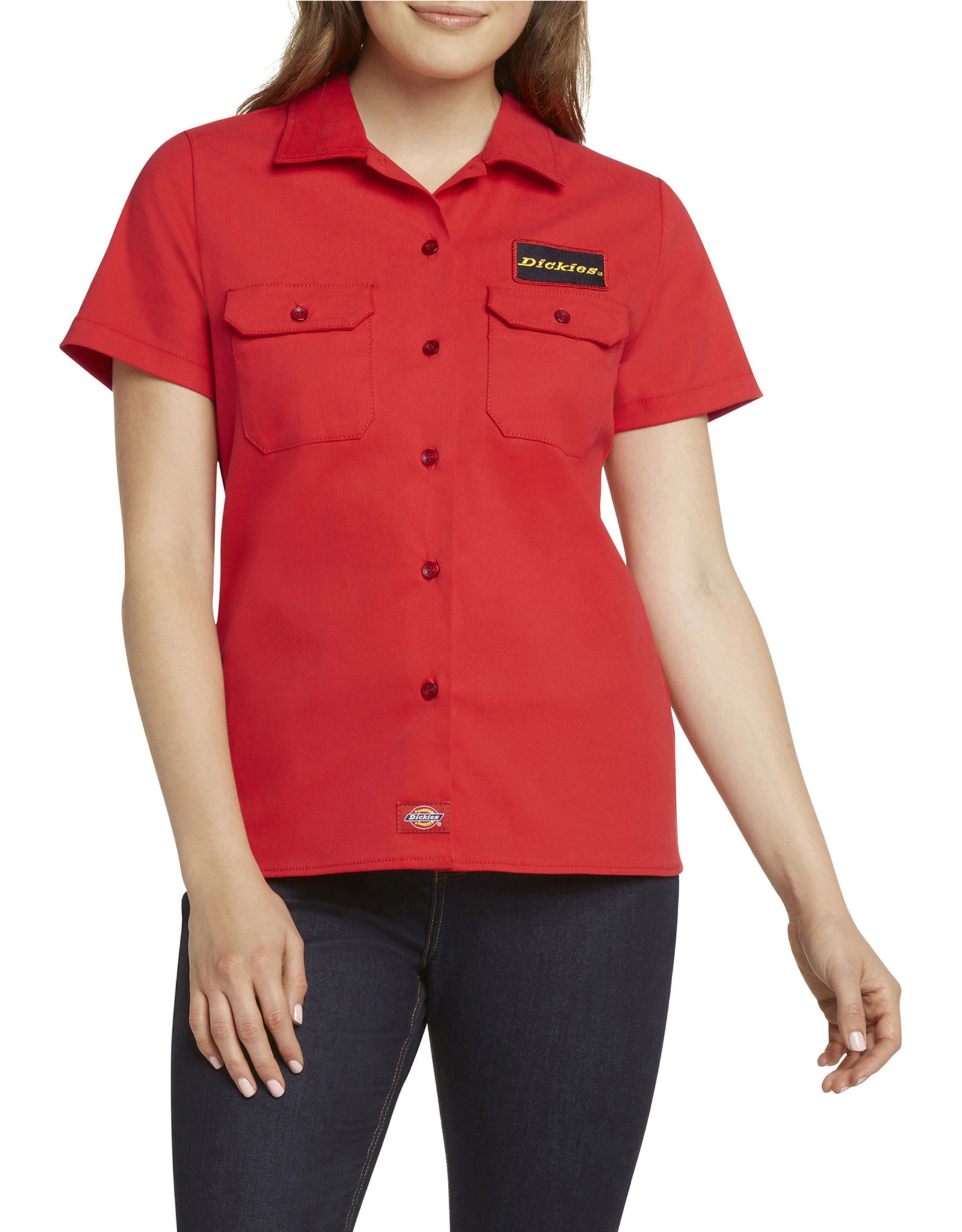 Dickies Girl Short Sleeve Twill Shirt J3017RR