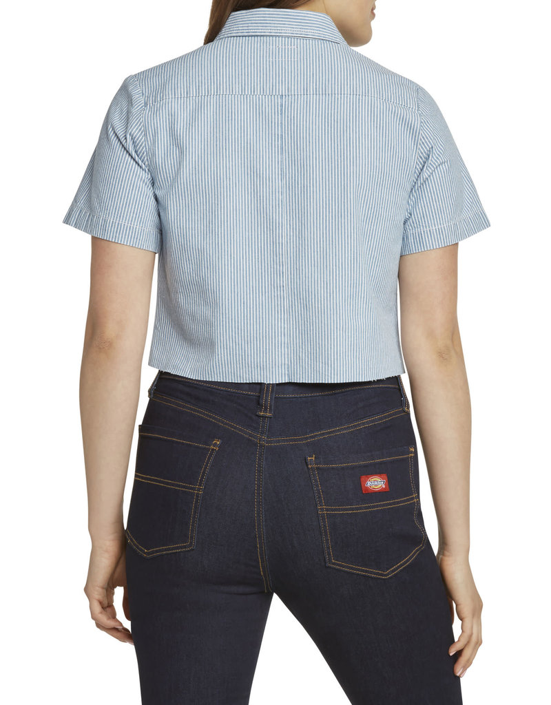 Dickies Girl Short Sleeve Twill Crop J3071RR