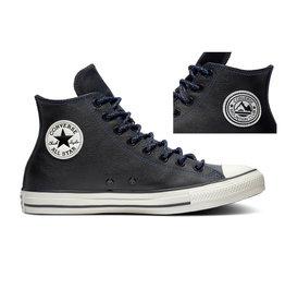 CONVERSE CHUCK TAYLOR ALL STAR HI LEATHER BLACK/HYPER ROYAL/EGRET CC19HYR-165959C