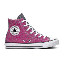 CONVERSE CHUCK TAYLOR ALL STAR HI PINK/SILVER/WHITE C19PS-566269C