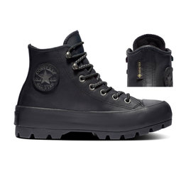 CONVERSE CHUCK TAYLOR ALL STAR LUGGED WINTER HI LEATHER BLACK/THUNDER GREY CC994MO-566155C