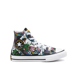 CONVERSE CHUCK TAYLOR ALL STAR HI BATMAN WHITE/BLACK/MULTI CZBATW-367307C
