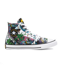 CONVERSE CHUCK TAYLOR ALL STAR HI CANVAS BATMAN WHITE/BLACK/MULTI C19BATW-167303C