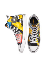 CONVERSE CHUCK TAYLOR ALL STAR HI CANEVAS BATMAN BLACK/WHITE/LEMON CHROME C19BATB-167304C