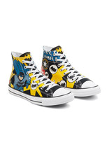 CONVERSE CHUCK TAYLOR ALL STAR HI CANVAS BATMAN BLACK/WHITE/LEMON CHROME C19BATB-167304C