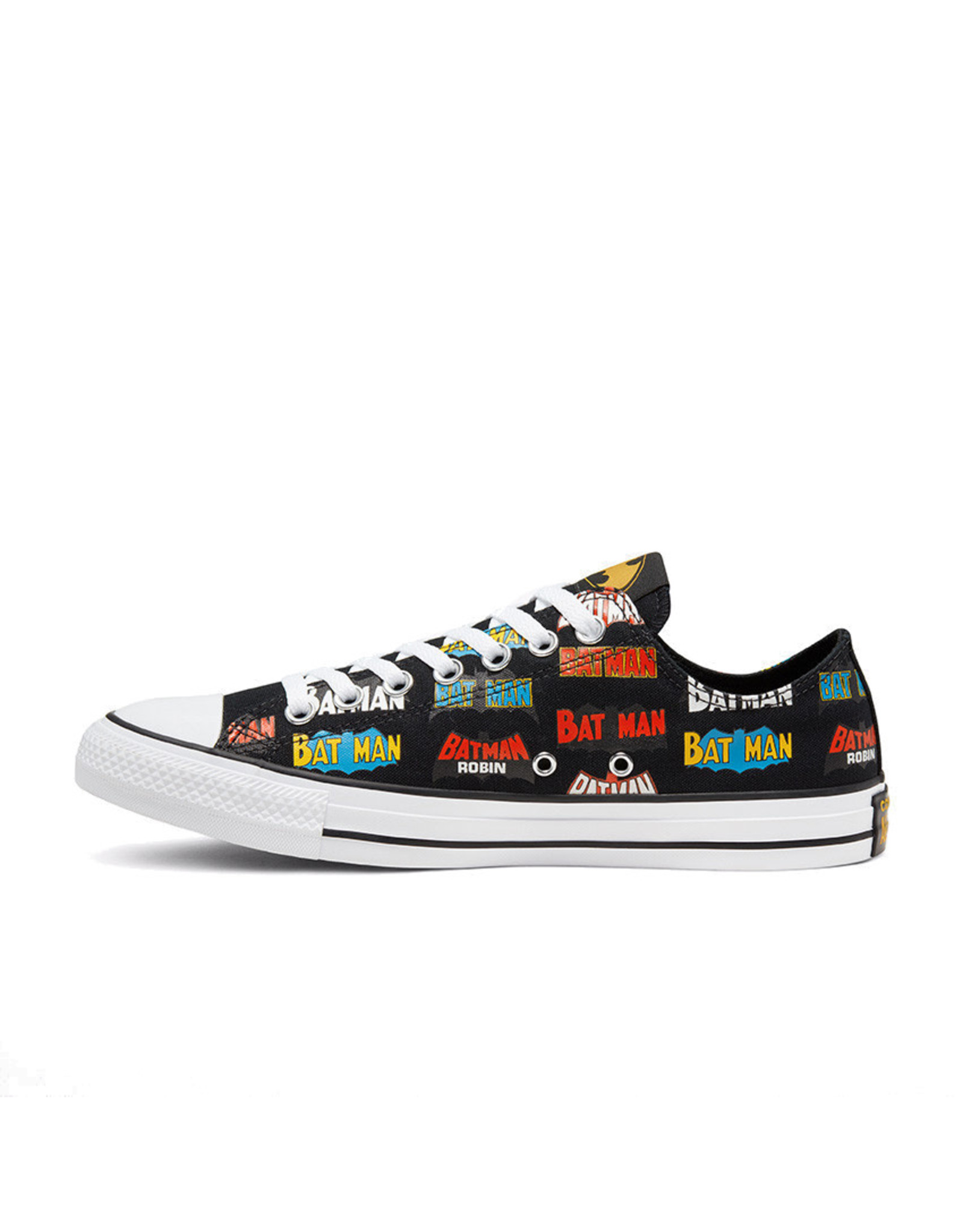 CONVERSE CHUCK TAYLOR ALL STAR OX BATMAN CANEVAS BLACK/WHITE/MULTI C13BATB-167319C