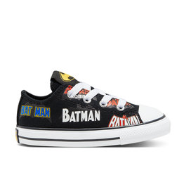 CONVERSE CHUCK TAYLOR ALL STAR OX BATMAN BLACK/WHITE/MULTI CKBATB-767320C