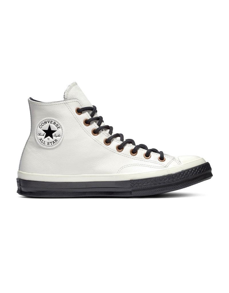 CONVERSE CHUCK 70 HI WHITE LEATHER RALYSSUM/BLACK/EGRET CC970A-165924C