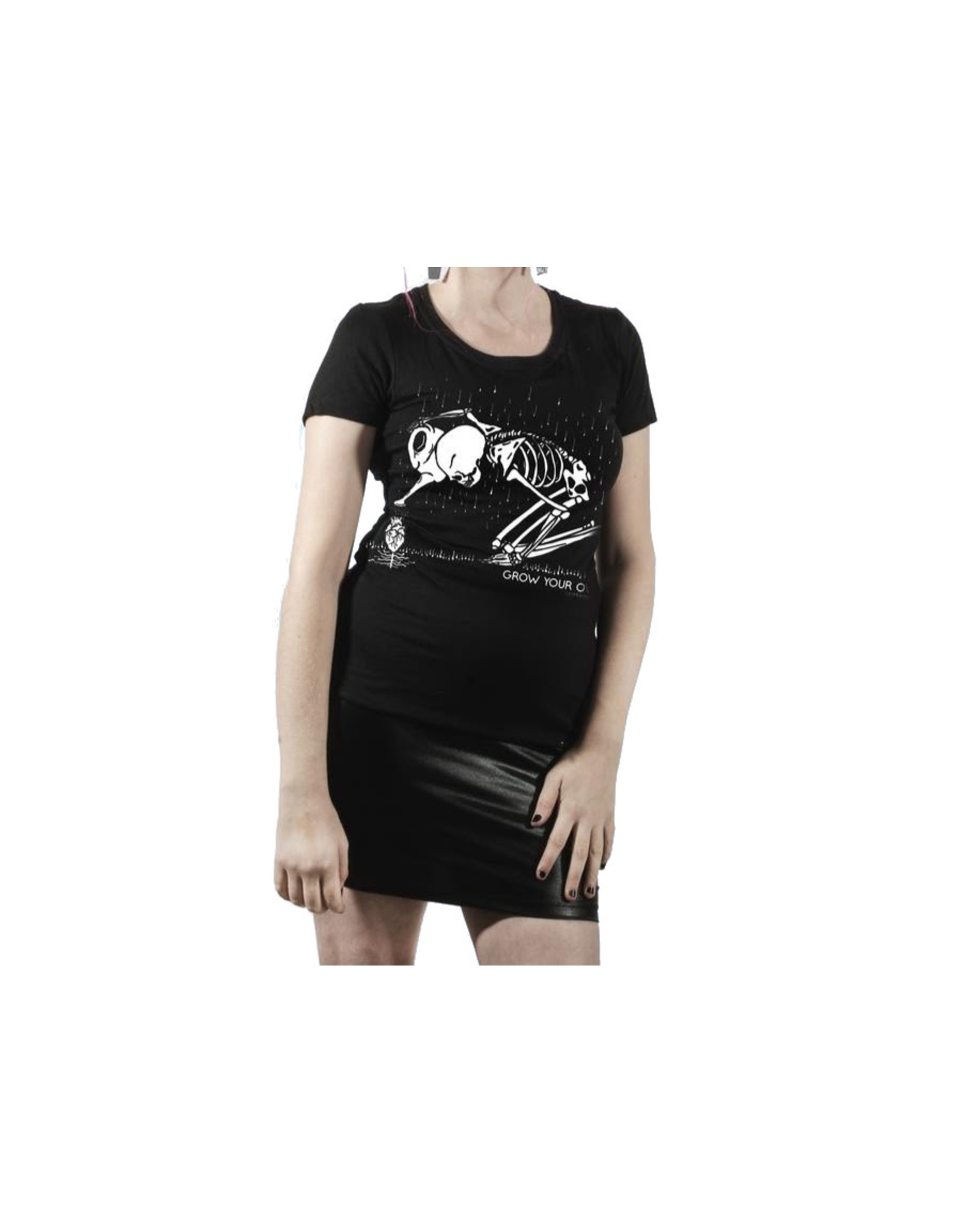 TOO FAST - Grow Your Own Skeleton Love Babydoll T-Shirt