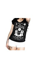 TOO FAST - Society of Black Hats Sleeveless V Neck T-Shirt
