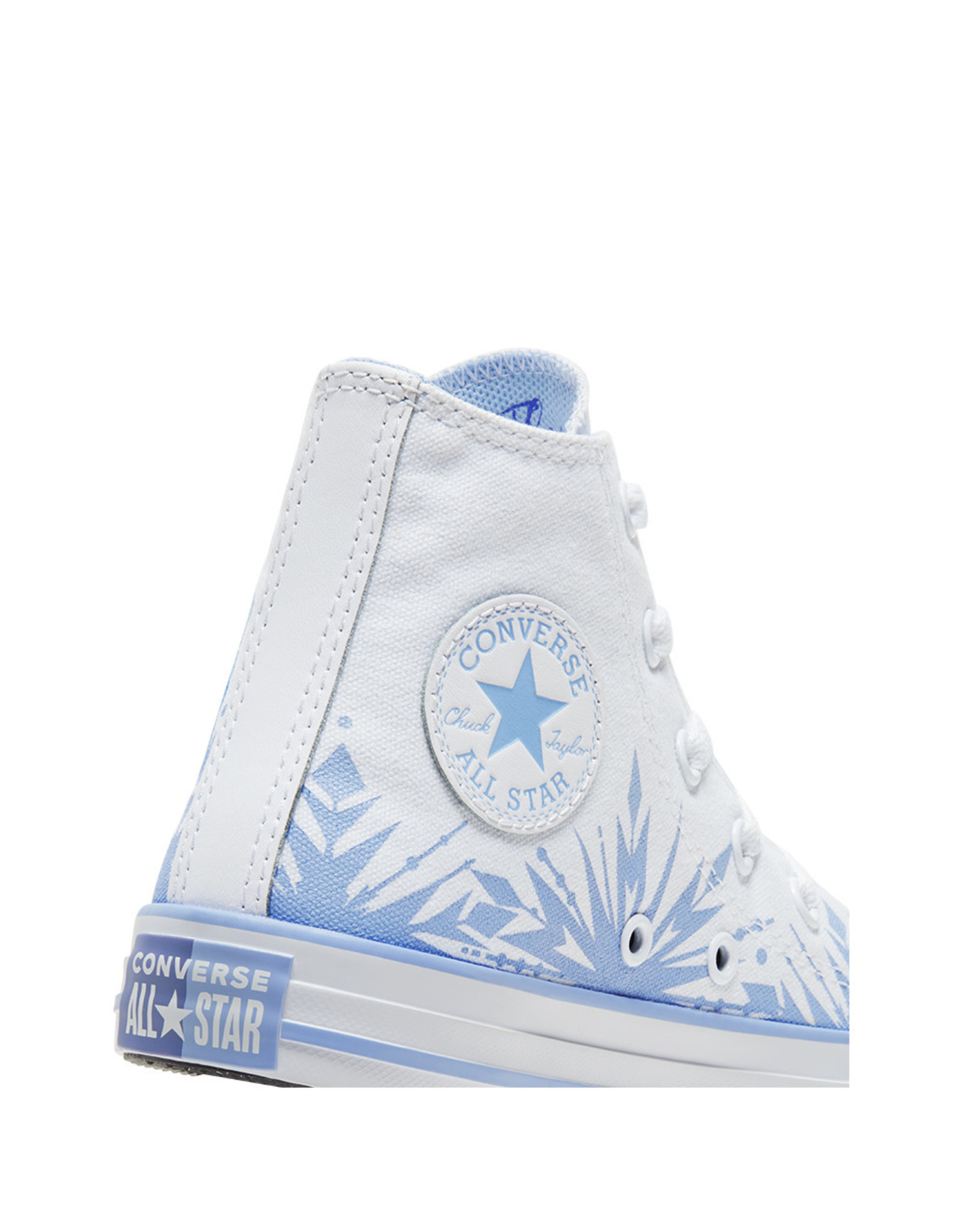 CONVERSE CHUCK TAYLOR ALL STAR HI FROZEN 2 WHITE/BLUE HERON/WHITE CZFZH-667354C