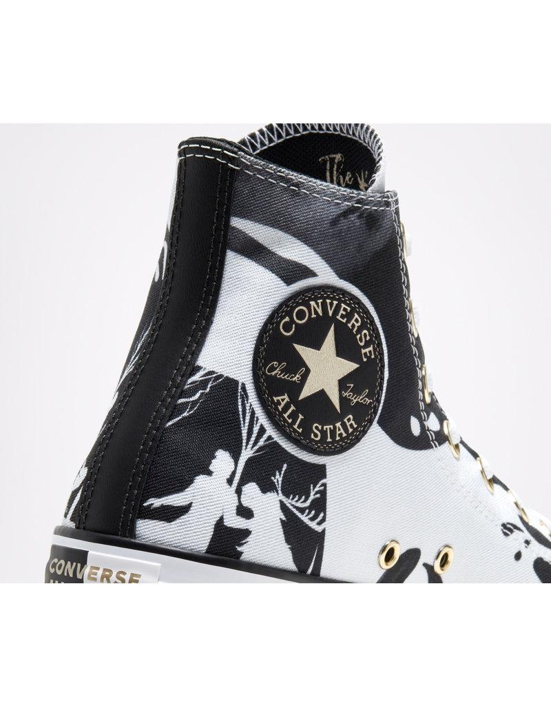 CONVERSE CHUCK TAYLOR ALL STAR HI FROZEN 2 WHITE/BLACK/WHITE C19FZB-167358C