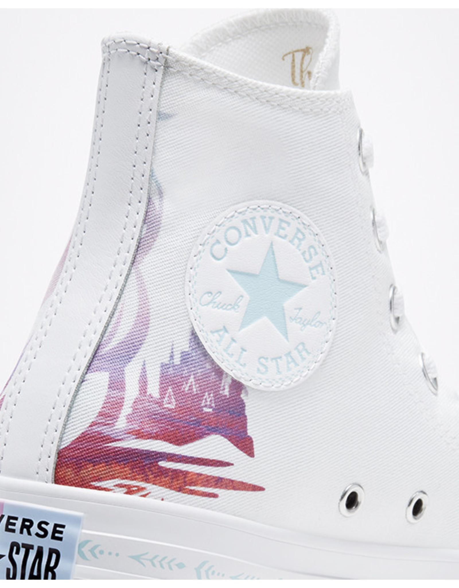 CONVERSE CHUCK TAYLOR ALL STAR HI FROZEN 2 WHITE/MULTI/WHITE C19FZM-167357C