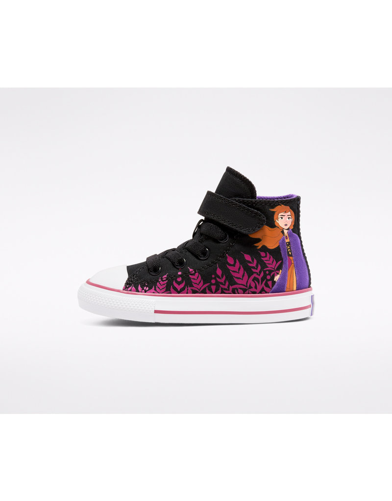 CONVERSE CHUCK TAYLOR ALL STAR 1V HI FROZEN 2 BLACK/CHERRIES JUBILEE/WHITE CKFZJ-767351C