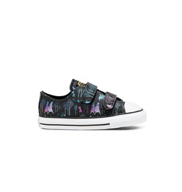 CONVERSE CHUCK TAYLOR ALL STAR 2V OX FROZEN 2 BLACK/MULTI/WHITE CKFZB-767352C