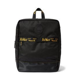 DR. MARTENS - Large Backpack Black Polyester  Cotton Drill