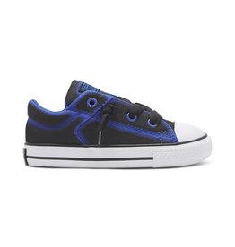CONVERSE CHUCK TAYLOR ALL STAR HIGH STREET SLIP BLACK LASER BLUE CPSBL-751712C