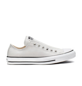 CONVERSE CHUCK TAYLOR ALL STAR SLIP LEATHER MOUSE/WHITE/BLACK CC13SM-164977C