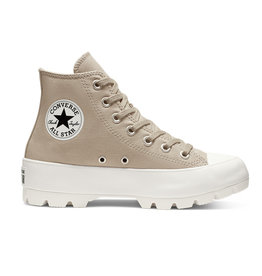 CONVERSE CHUCK TAYLOR ALL STAR LUGGED HI CUIR PAPYRUS/PAPYRUS/WHITE C994PA-566285C
