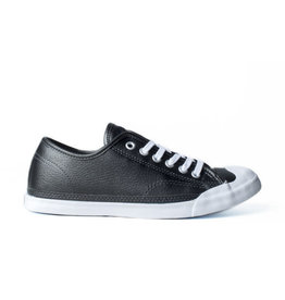 CONVERSE JACK PURCELL LP OX CUIR BLACK PEARL/WHITE CC769SM-158041C