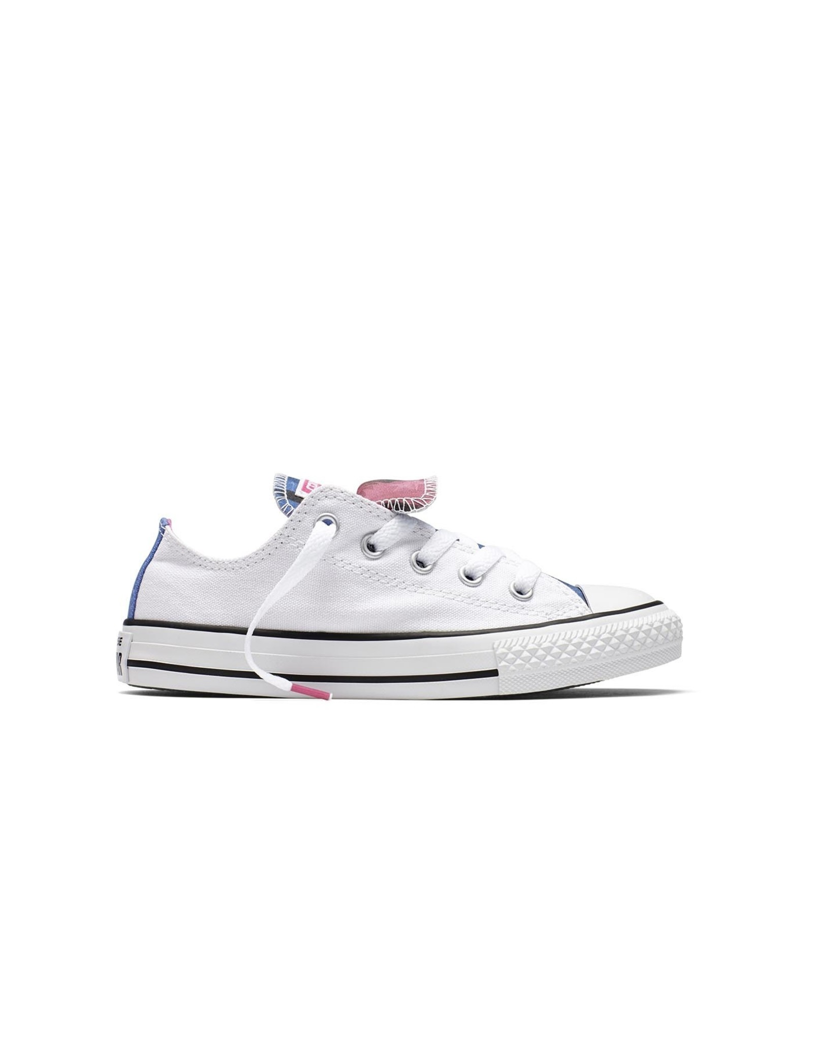 CONVERSE CHUCK TAYLOR DOUBLE TONGUE OX WHITE/PINK/WHITE CVDW-654339C