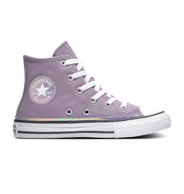 CONVERSE CHUCK TAYLOR ALL STAR HI DUSTY CANEVAS LILAC/WHITE/BLACK CZDUL-365984C