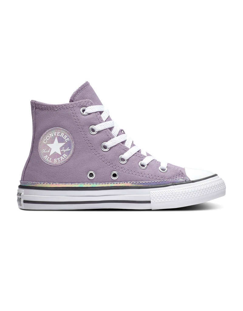CONVERSE CHUCK TAYLOR ALL STAR HI DUSTY CANVAS LILAC/WHITE/BLACK CZDUL-365984C